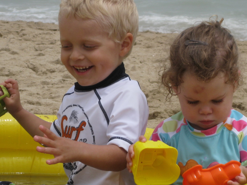 Flash back photo of my kids from 2010