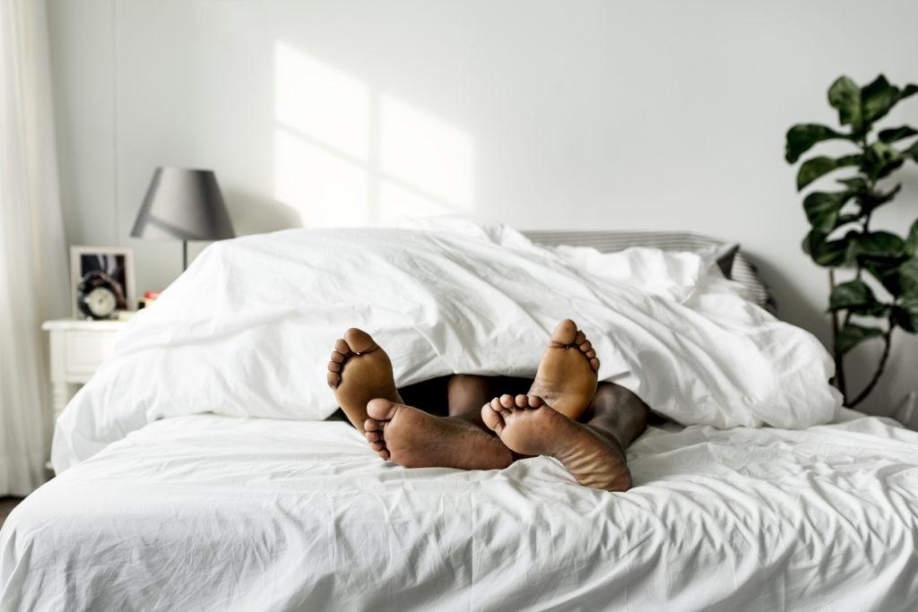 Sex no bed